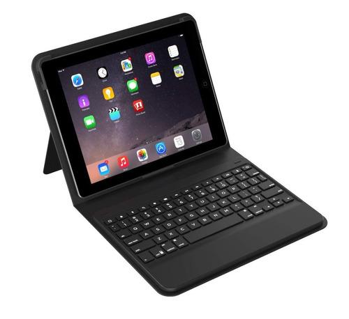 zagg messenger folio con teclado para ipad air / air 2 / pro