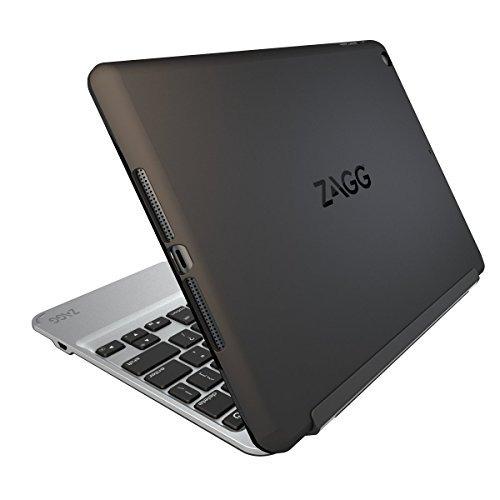 zagg slim book caja ultrafina, articulada con teclado retroi