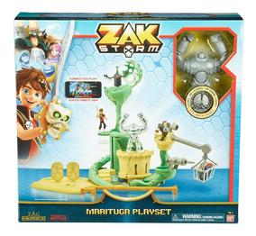 Playset Titanweb Accion Marituga Zak De Storm Isla Figura FcTlK1J