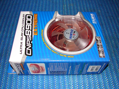 zalman - fan cooler modelo cnps-8900 extreme (nuevo)
