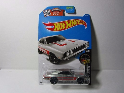 zamac dodge charger 500 escala 1/64 coleccion hot wheels