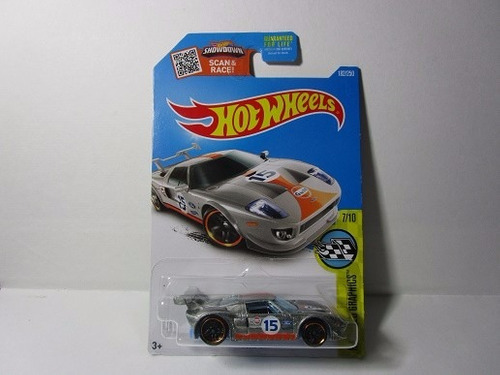 zamac ford gt gulf  escala 1/64 coleccion hot wheels