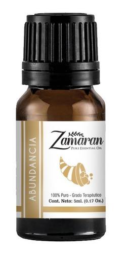 zamaran aceite esencial puro 100% terapéutico abundancia