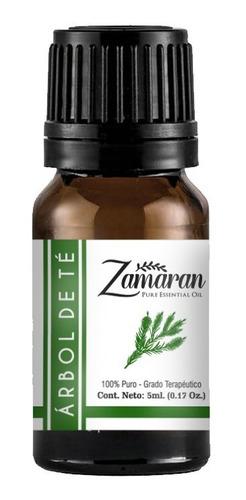 zamaran aceite esencial puro 100% terapéutico árbol de té