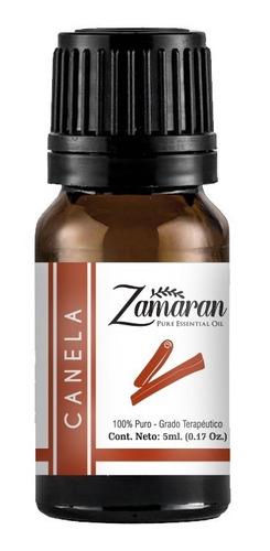 zamaran aceite esencial puro 100% terapéutico canela