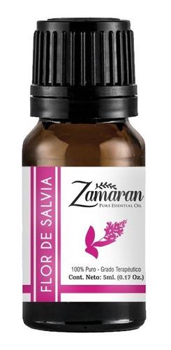 zamaran aceite esencial puro 100% terapéutico flor de salvia