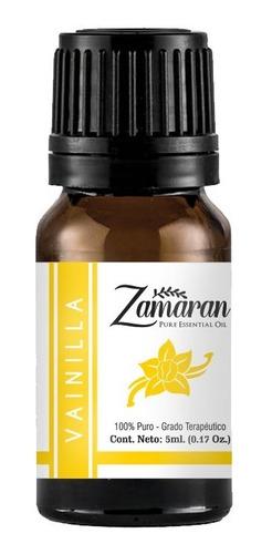 zamaran aceite esencial puro 100% terapéutico vainilla