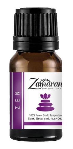 zamaran aceite esencial puro 100% terapéutico zen