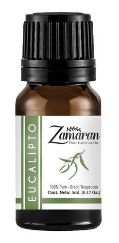 zamaran aceite esencial puro 100%terapéutico eucalipto