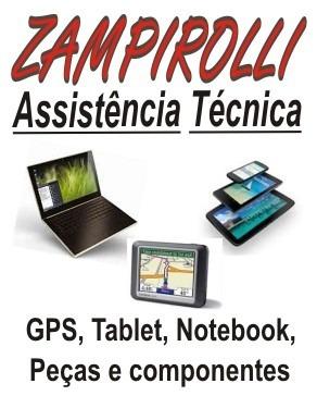 zampirolli manutenção gps tablet note peças e componentes