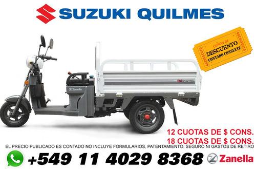 zanella camion tricargo 125 xt utilitario triciclo con caja