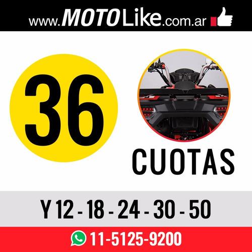 zanella cuatriciclo gforce 200 atv fx raptor moto 250