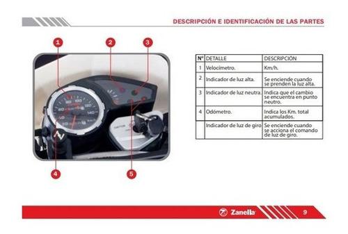 zanella enduro zr 250 lt  motozuni avellaneda