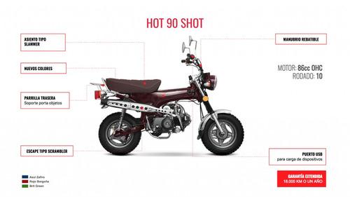 zanella hot 90 shot entrega inmediata