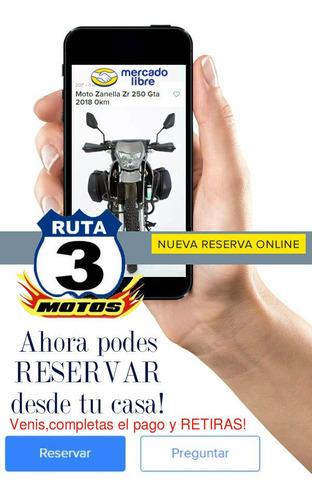 zanella patagonia 350 nueva version 0km 2020 ruta 3 motos