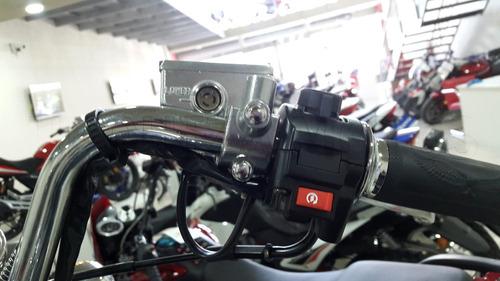 zanella patagonian eagle 150 black custom 0km urquiza motos
