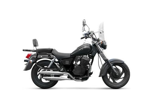 zanella patagonian eagle 250 black custom chopper moto