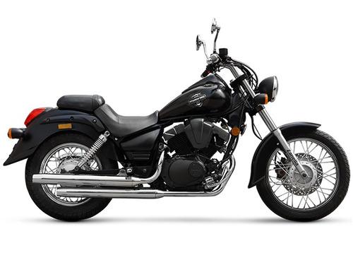 zanella patagonian eagle 250 shadow chopper custom moto