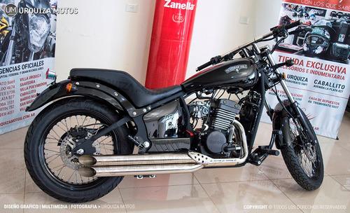 zanella patagonian eagle 350 chopper promo 0km urquiza motos