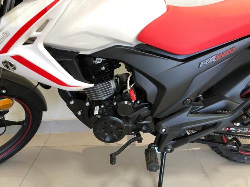 zanella rx 200 next 200cc 2018 0km blanca