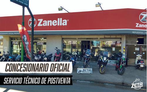 zanella rz3 rojo 0km - 2017 outlet -