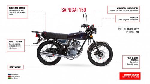 zanella sapucai 150 0km 2018 full retro bobber cafe 999 moto