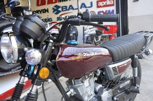 zanella sapucai 150 freno a disco full cafe racer