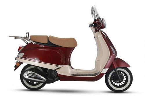 zanella styler 150 exclusive vintage con baul y parabrisa