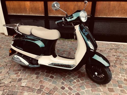 zanella styler 150  unico dueño 2017  con usb nueva permuto