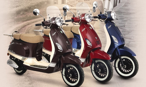 zanella styler exclusive 125cc   financiada y empadronada!