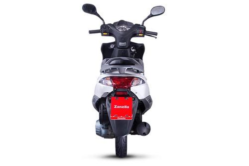 zanella styler rt 150 0km scooter ciclomotor negro mate