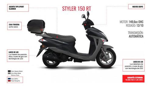zanella styler rt 150