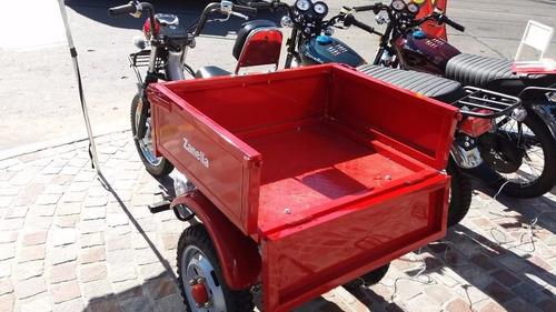 zanella tricargo 110 0km 2018 triciclo carro 999 motos