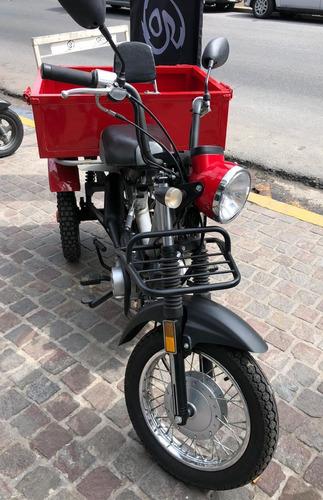 zanella tricargo 110 4t usado 2017 660km