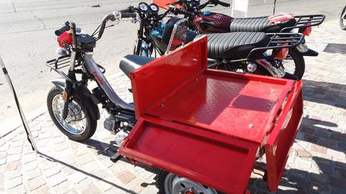 zanella tricargo 110 carga trabajo 100 0km triciclo