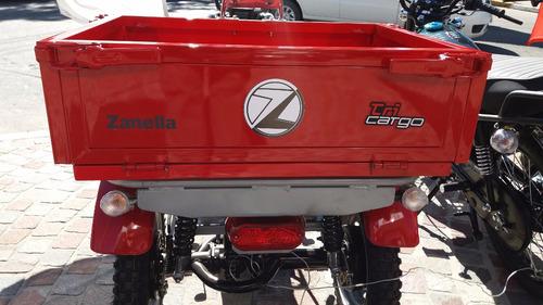 zanella tricargo 110 carga trabajo 100 0km triciclo- cuotas!
