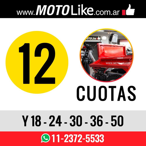 zanella tricargo 110 lt utilitario carga 125 xt moto like