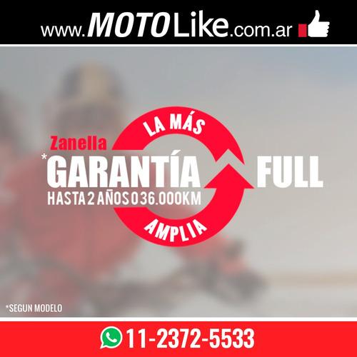 zanella tricargo 110 lt utilitario carga moto 125 xt rojo