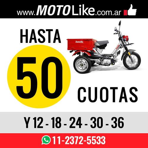 zanella tricargo 110 lt utilitario moto 125 xt deal