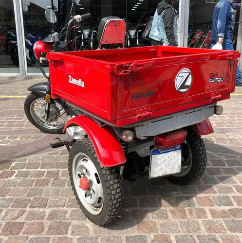 zanella tricargo 110 usado 2017 660km triciclo 999 quilmes