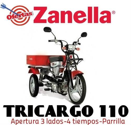 zanella tricargo 110 utilitario 0km 2020