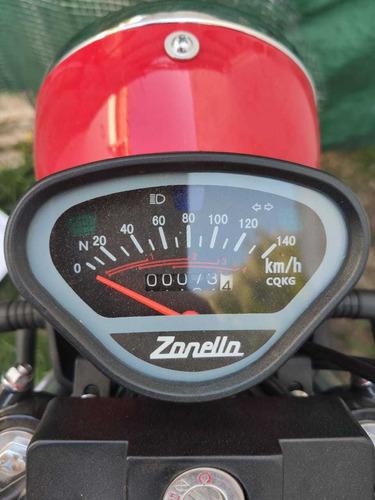 zanella tricargo 110cc 4t , como 0km, impecable!