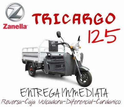 zanella tricargo 125 0km 2017
