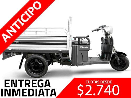 zanella tricargo 125 lt utilitario s truck 200 anticipo
