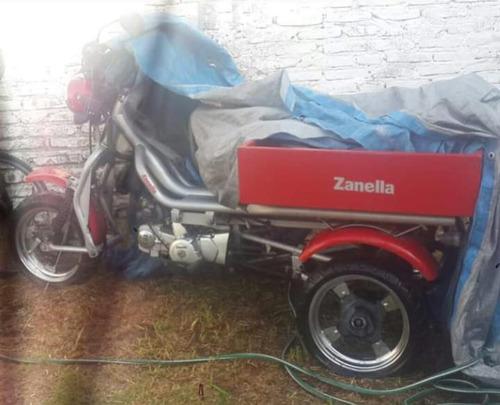 zanella tricargo 125  única dueña