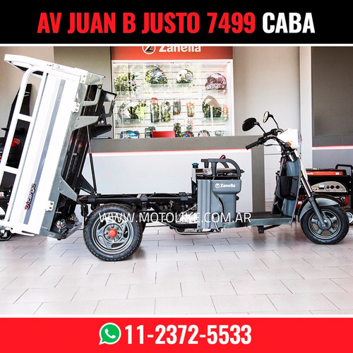 zanella tricargo 125 xt utilitario carga moto