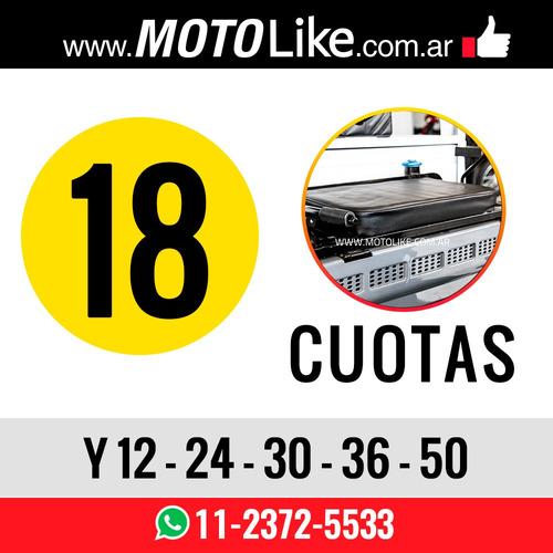 zanella tricargo 125 xt utilitario carga moto blanco