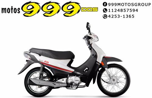 zanella zb 110 0km z1 2018 base 0km ciclo roja 999 motos