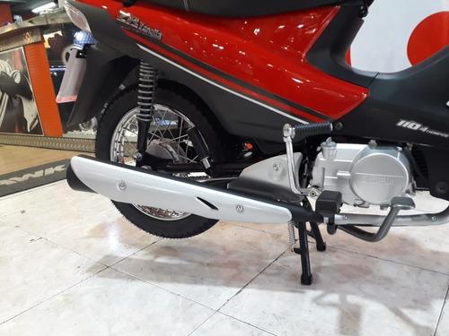 zanella zb 110 automatica 0km  tamburrino motos