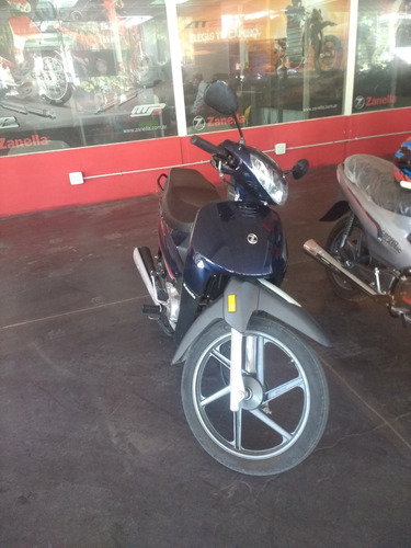 zanella zb 110 automatica..recibo motos